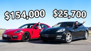 2021 Porsche Panamera GTS vs The Cheapest V8 Panamera You Can Buy