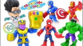 Tổng Hợp Siêu Nhân Người Nhện Đại Chiến Thế Lực Hắc Ám Cùng Biệt Đội Siêu Anh Hùng - Toy Story