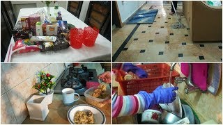 Pakistani daily cleaning routine   mini grocery haul    Vlogger Bird   