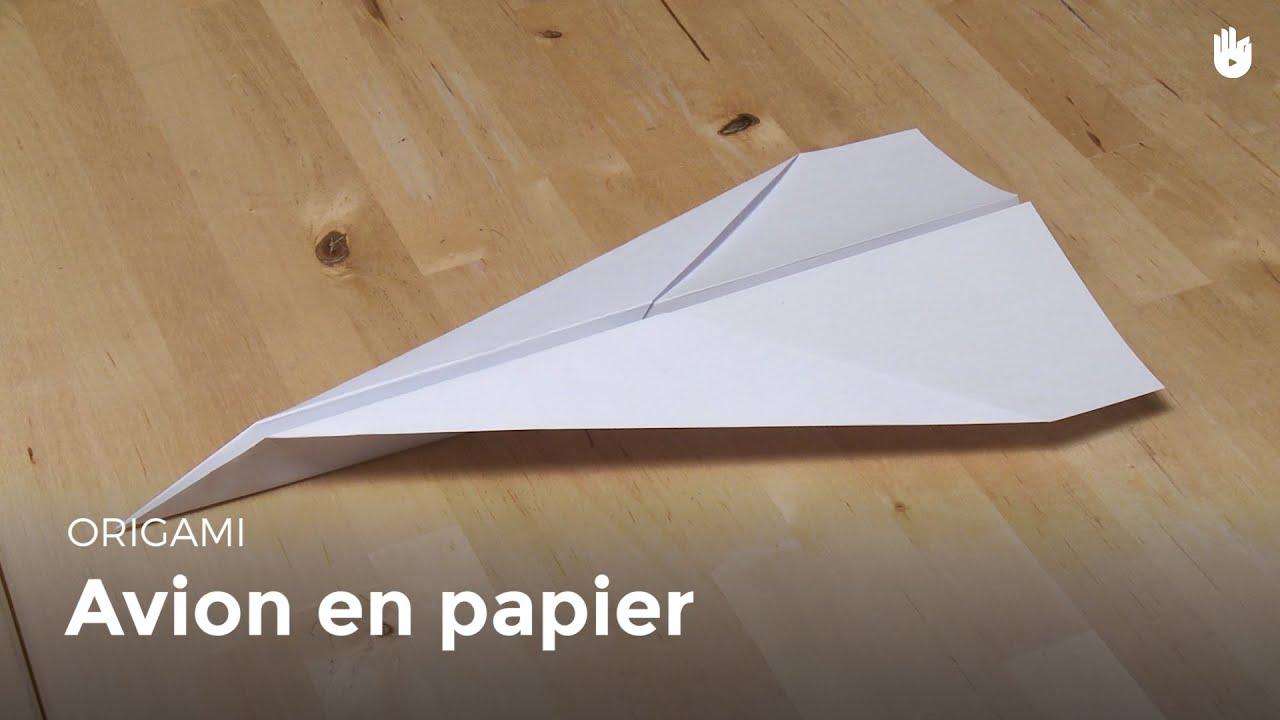 origami avion en papier hd youtube. Black Bedroom Furniture Sets. Home Design Ideas