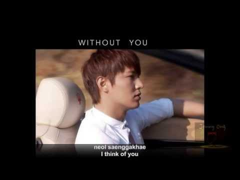 Without You by Lee Min Ho  이민호 李敏镐 [Eng/Romanized lyrics] - [Fanmade MTV by Jenny Ong]