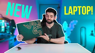 My NEW LAPTOP! - Razer Blade 15 Unboxing & First impressions!