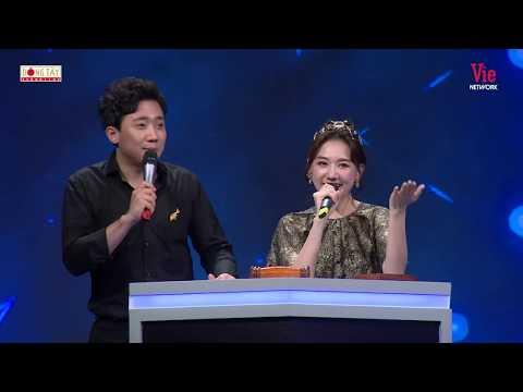 Vợ chồng Hari Won - Trấn Thành bất ngờ ngã