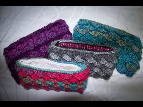Crochet Stitches In Tamil : Crocodile stitch purse/mobile pouch/handbag crochet - Tamil/English ...