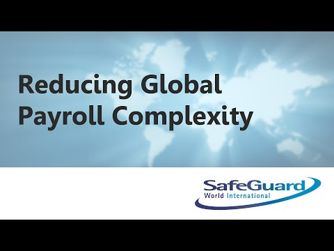 Reducing Global Payroll Complexity