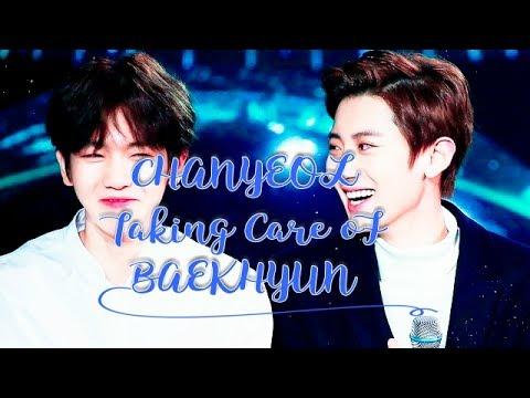 [CHANBAEK] Chanyeol Taking Care Of Baekhyun Pt.1