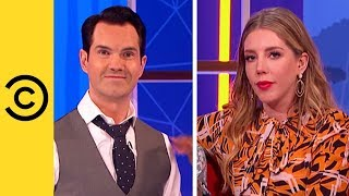 Jimmy Carr and Katherine Ryan Flirt With The Contestants | Your Face Or Mine