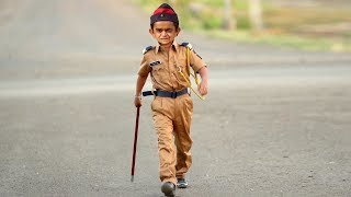 CHOTU DADA POLICE WALA   छोटू दादा पुलिस वाला    Khandesh Comedy Video