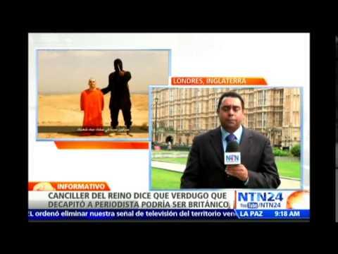 RU muestra su preocupación ante la posibilidad de que el verdugo de James Foley sea británico