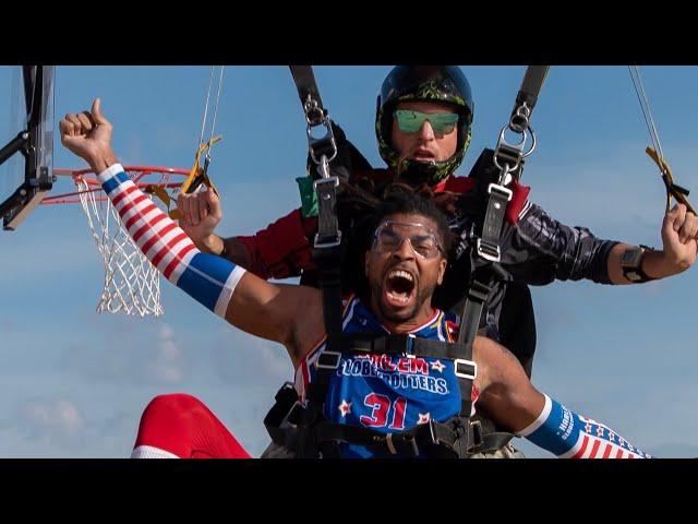 籃球/狂!哈林籃球隊挑戰1萬英呎高空灌籃 結果超震撼