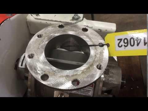 "Used 6"" Schenck Macprocess Stainless Steel Rotary Airlock Valve"