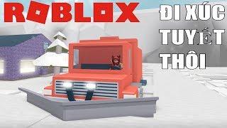 Roblox | Dùng Siêu Xe Đi Dọn Tuyết | Snow Shoveling Simulator | MinhMaMa