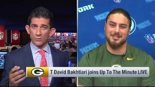 David Bakhtiari thinks he's low on Top 100 because 'people have a hard time spelling my name'