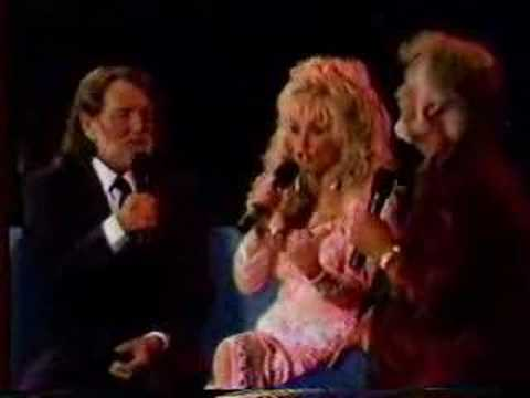 Kenny Rogers/Dolly Parton/Willie Nelson Live Medley