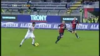 Cagliari-Napoli 0-1 (Lavezzi) Commento di Carlo Alvino