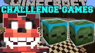 Minecraft: NIGHTMARE FOXY CHALLENGE GAMES - Lucky Block Mod - Modded Mini-Game