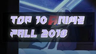 Top 10 the best anime of 2018