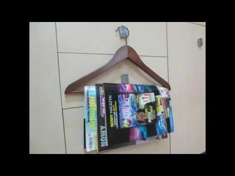 Hanger for newspapers, Wieszak na gazety