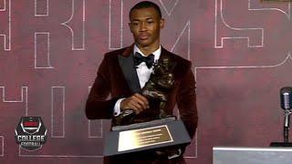 DeVonta Smith wins the Heisman Trophy | College Football on ESPN