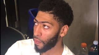 Anthony Davis speaks on the impact DeMarcus Cousins will have on GSW!!!!!
