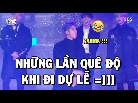 [BTS Funny moments #62] Những lần quê độ khi đi dự lễ =)))))