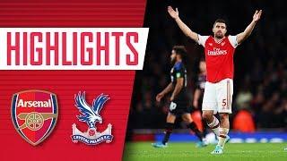 HIGHLIGHTS | Arsenal 2-2 Crystal Palace