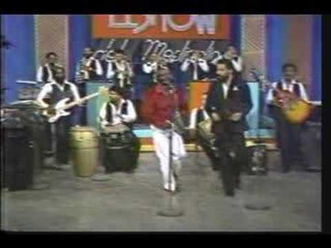 CUCO VALOY canta: HENRY GARCIA - Morina (video merengue 80's)