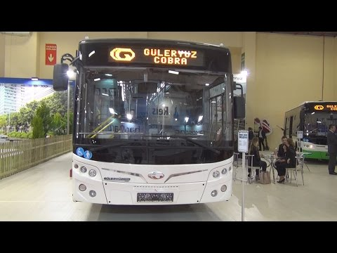 Güleryüz Cobra GD 272 LF Bus (2016) Exterior and Interior in 3D