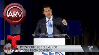 Cesar Conde recibió importante reconocimiento | Al Rojo Vivo | Telemundo