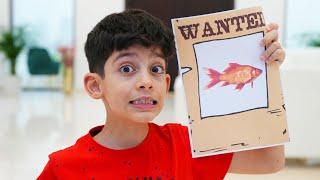 Jason play fish story at home