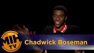 Chadwick Boseman Marshall Interview