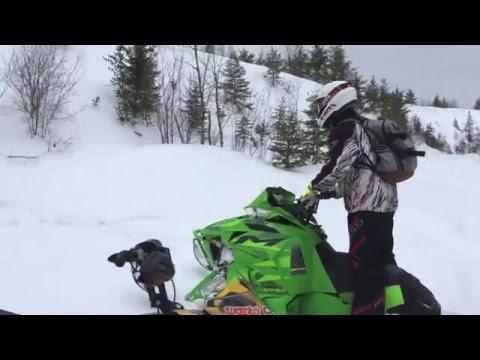 Sunday snowmobiling