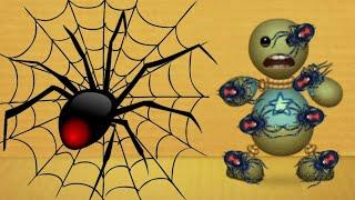 Black Widow SPIDER vs The Buddy | Kick The Buddy