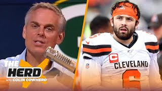 Colin reveals Super Bowl bubble, Rodgers is protecting legacy, Baker is Case Keenum | NFL | THE HERD