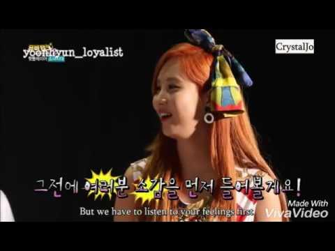 [YoonHyun Funny Moment] YoonA Making Fun of Seohyun Part 1