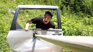 GIANT ARROW VS. GIANT CHAINMAIL - Tested SLOW MO
