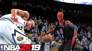 THE PROFESSOR Gets Drafted To The NBA! BUT AS SPIDERMAN BASKETBALL.. - NBA 2K19