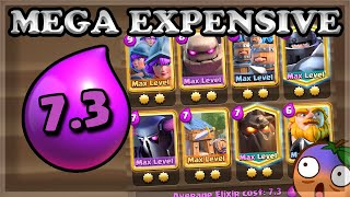 Destroying With The MOST Expensive Deck You Can Possibly Make 🍊