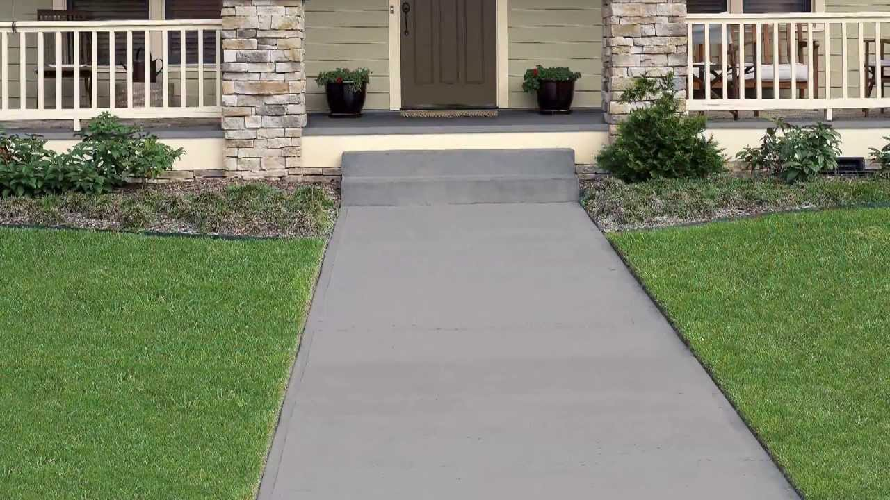 How To Apply Behr Premium Solid Color Concrete Stain