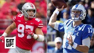 2019 NFL Draft: Nick Bosa is the best player, Daniel Jones the best QB – Mel Kiper Kr. | Get Up!