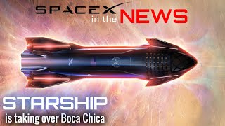 Elon Musk Readies SpaceX Starship For Next Test | SpaceX in the News