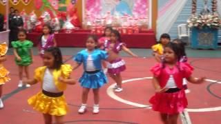 Baile Moderno - Aula 5 años