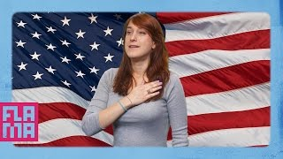 9 Weird Things That ONLY Happen In America - Joanna Rants