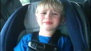 Kid crying for Iron Maiden