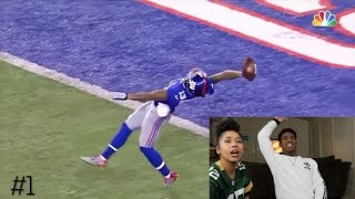 LATE NIGHT TWERKINGGG WITH DOMI V!!Top 10 Odell Beckham Jr Catches | NFL- Reaction