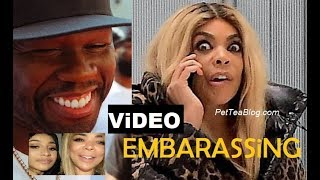 Wendy Williams Denied Entry at 50 Cent Party but Cardi B Partied with her - ViDEO