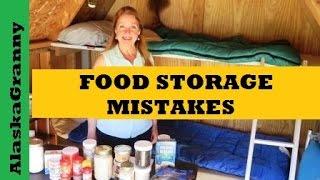 Food Storage Mistakes