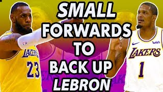 Four Small Forwards the Lakers Can Target To Backup LeBron James | 2019 NBA Free Agency
