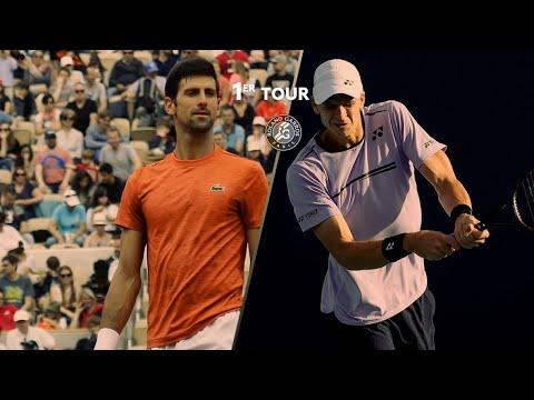 Roland-Garros 2019 : Le résumé Novak Djokovic/Hubert Hurkacz