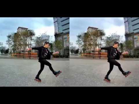 Inline skating(Dancing)~直排輪美少女黃昱瑄 by @SIDWEEVIEW